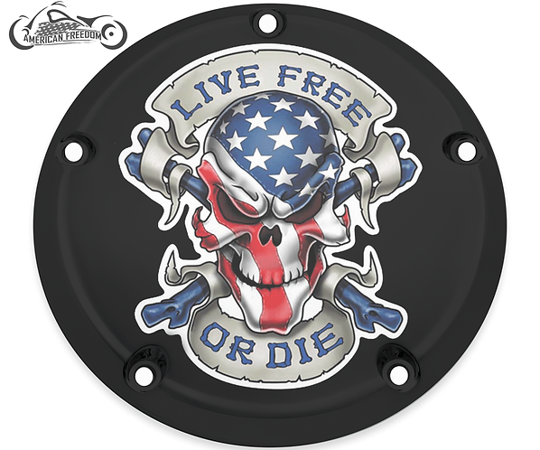 AMERICAN LIVE FREE SKULL