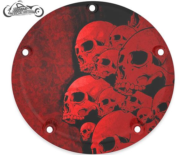 SKULL PILE (RED)