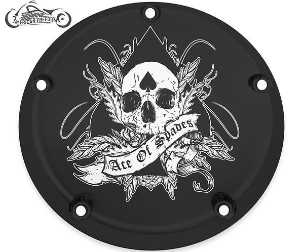 ACE OF SPADES SKULL (BLACK)
