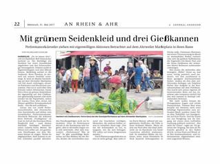 Article du journal allemand «General Anzeiger»