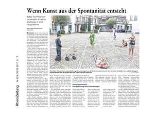 Article du journal allemand « RheinZeitung »