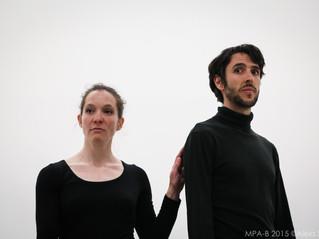 MPA-B performance de Delphine Richer avec Térence Meunier à Berlin et site archive