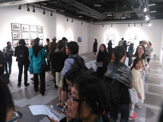 """Vues of the exhibition """"From Live to Document"""" Chengdu, China"""