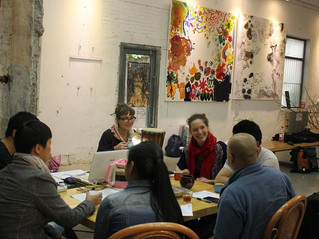 Happy in Xi'An with the lovely team of the festival and the great artists !