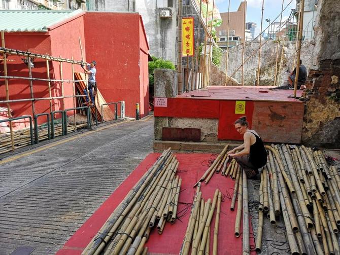 Résidence au centre d'art Ox Warehouse de Macao