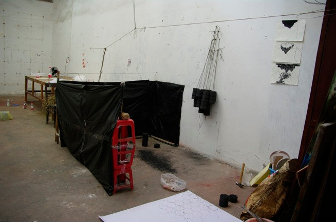 Atelier à Chongqing 重庆, CHINE