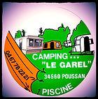 Le Garel, camping 3 étoiles, au calme, piscine, Balaruc en Hérault.
