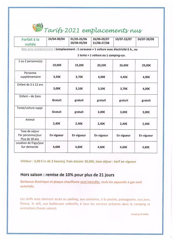 GAREL (Nouveaux tarifs emplacements).png