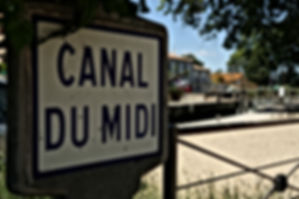 Le Canal du Midi à Villeneuve les Béziers