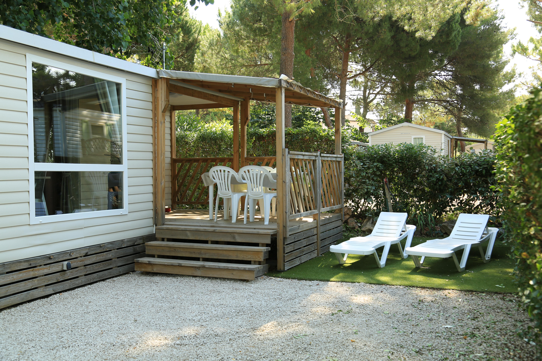 Location de mobilhome neuf, Hérault