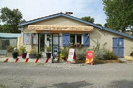 Bureau d'accueil du camping Le Garel.