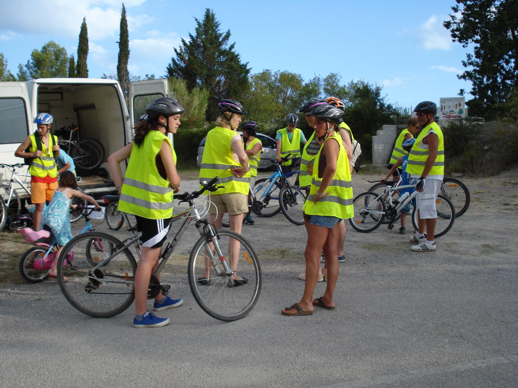 Ballade à vélo au Camping Le Garel.