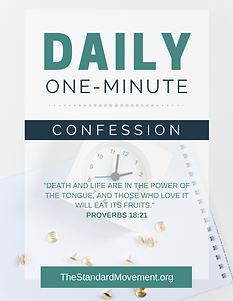 The Standard Daily One-minute confession