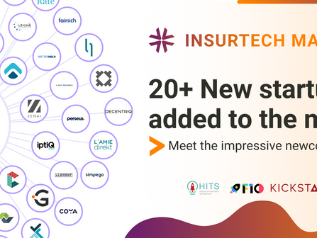 Over 20+ new startups were added to the InsurTech Map since launched