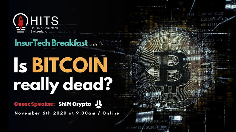 HITS InsurTech Breakfast with Shift Crypto