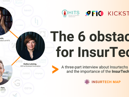 Die 6 Hindernisse für InsurTechs (Part One)