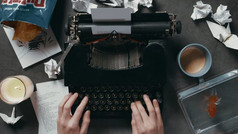 The Novel Encounter   The Typewriter