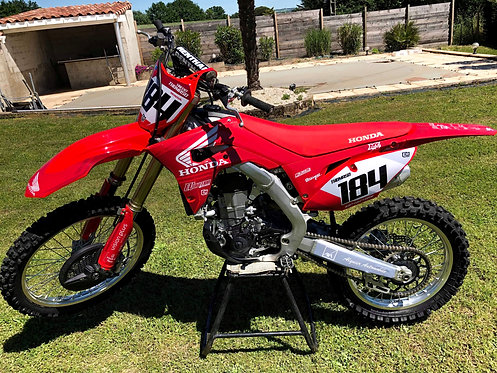 Kit déco CRF 250-450 Honda Replica RED