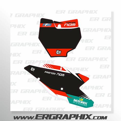 FOND DE PLAQUE KTM RACE