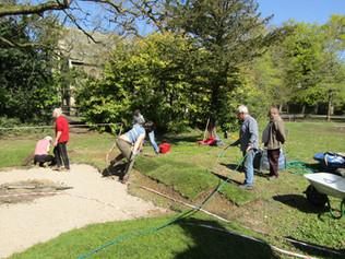 working on the bog garden.JPG