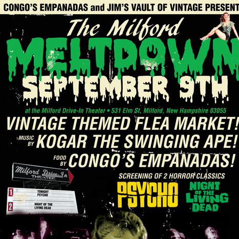 The Milford Meltdown Event Poster