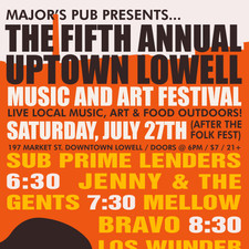 Uptown Lowell Music and Arts Festival Poster