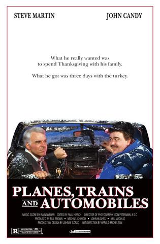 Planes Trains and Automobiles D2 Print R