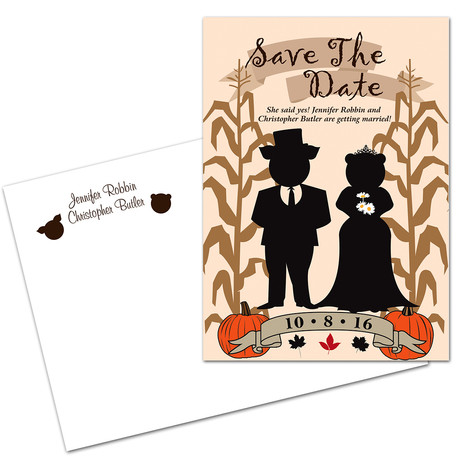 Save The Date Design w/ Envelope