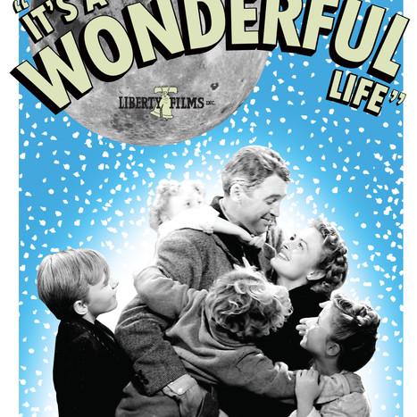It's A Wonderful Life (Fan Art Poster Design)