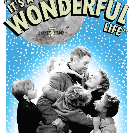 It's A Wonderful Life (Fan Art Poster Design)