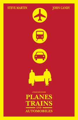Planes Trains and Automobiles D1 Print R