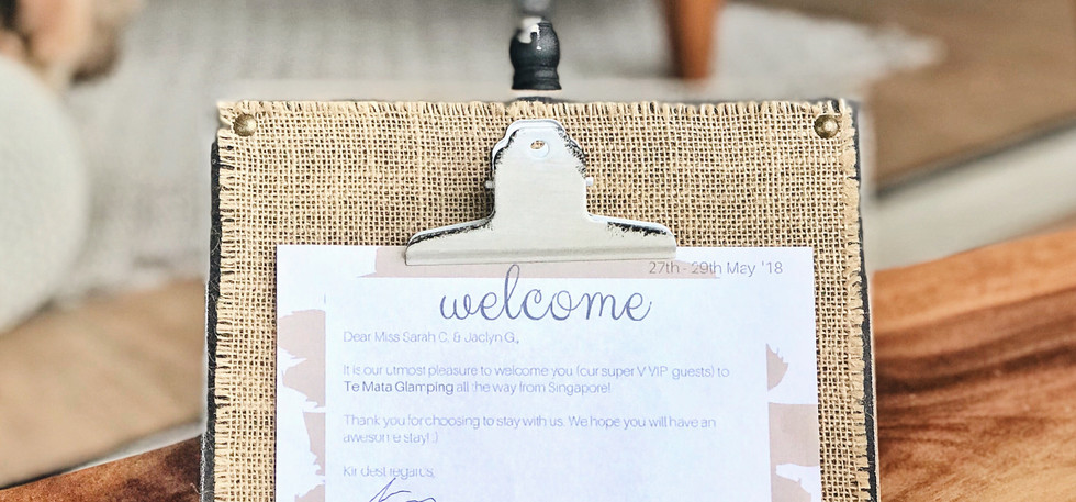 Welcome Note