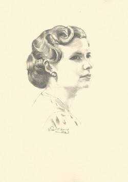 War Time Portrait
