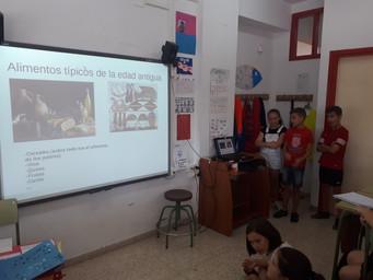 EXPOSICIÓN DEL ALUMNADO DE 4ºA DE PRIMARIA
