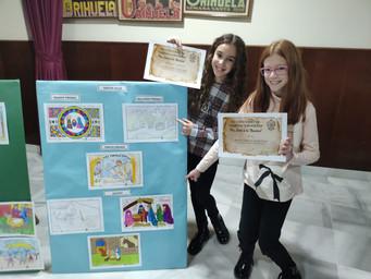 Ganadoras concurso dibujo