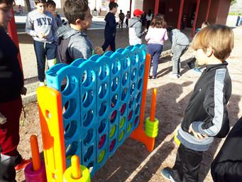 Nuevos juegos en el patio inclusivo
