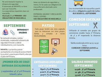 INSTRUCCIONES INICIO DE CURSO 20-21