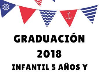 INVITACIÓN GRADUACIÓN 2018