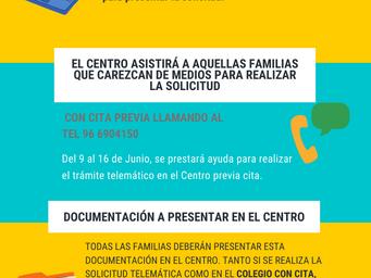 PROCESO DE ADMISIÓN 2020-21