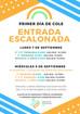 INFORMACIÓN IMPORTANTE: PRIMEROS DÍAS DE CLASE