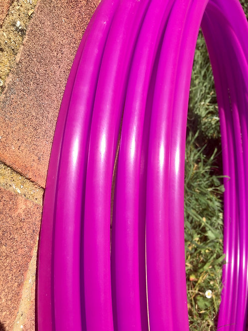 CLEARANCE 5/8 UV Fuchsia Collapsible Polypro Hoop