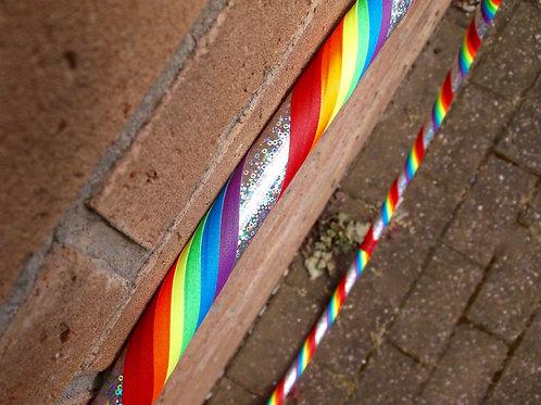 Rainbow Fizz Beginner/Intermediate Hoop