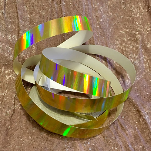 Gold Rainbow Sheen Polypro Hoop