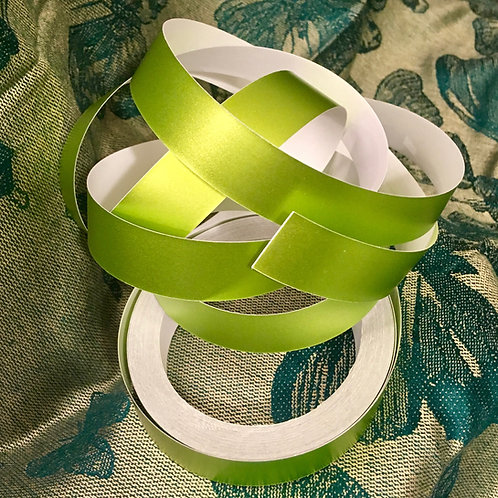 Lime Satin Lustre Taped Polypro Hoop