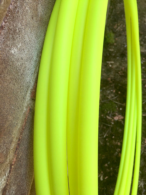 CLEARANCE 3/4 UV Yellow Collapsible Polypro Hoop