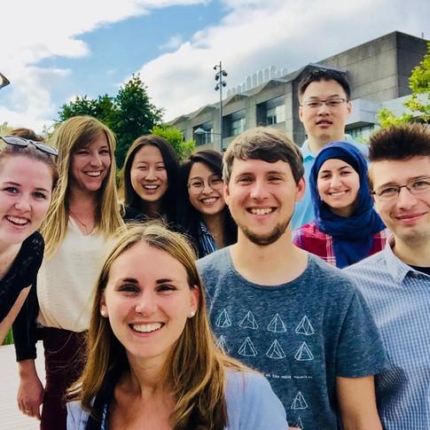 Lab Selfie in 2017