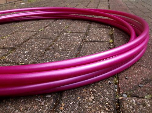 Rubellite Pink (Metallic) Polypro Hoop