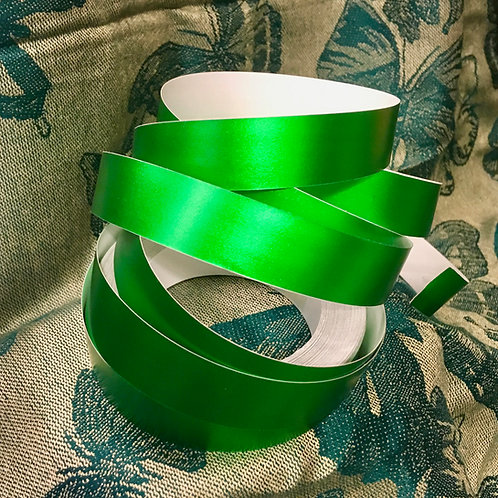 Green Satin Lustre Taped Polypro Hoop