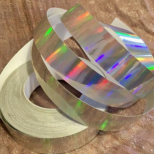 Silver Rainbow Sheen Polypro Hoop