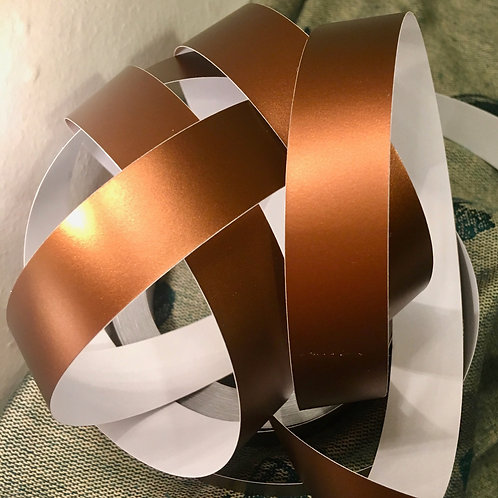 Bronze Satin Lustre Taped Polypro Hoop